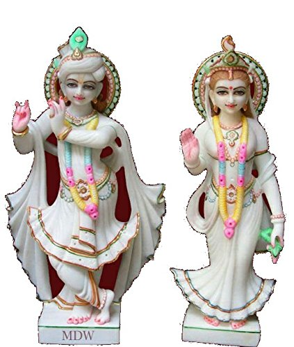 b64485f3365 Image Unavailable. Image not available for. Colour  RAMGARH MURTI MUSEUM  RMM Lord Radha Krishna Marble ...