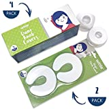 Baby : Wittle Door Knob Safety Cover - 4pk Plus Finger Pinch Guard - 2pk. Door Safety Kit for Kids, Toddler and Baby. Child Proof Door Lock Keeps Kid Out While U Shape Foam is a Great Door Slam Stopper!