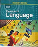 img - for Elements of Language; Fourth Course (Annotated Teacher's Editio book / textbook / text book