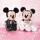 ぬいぐるみ マスコット ブライダル 2013 (ウェディングセット) ハートBOX 洋装 ミッキー&ミニー (ミッキーマウス/ミニーマウス) ディズニー