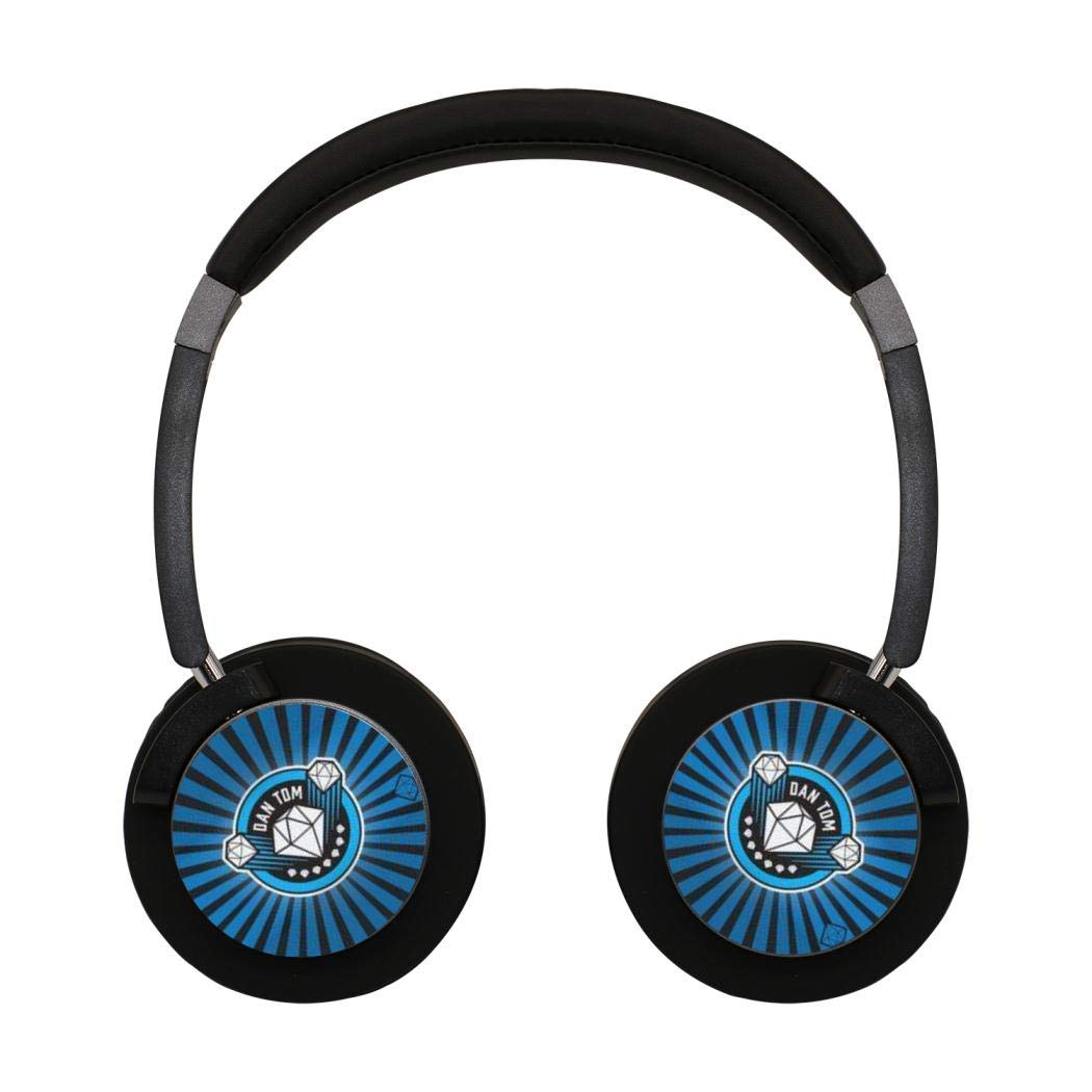 Wireless Headphones Player_Dan_TD_M Bluetooth Over Ear Game Headset Noise Canceling