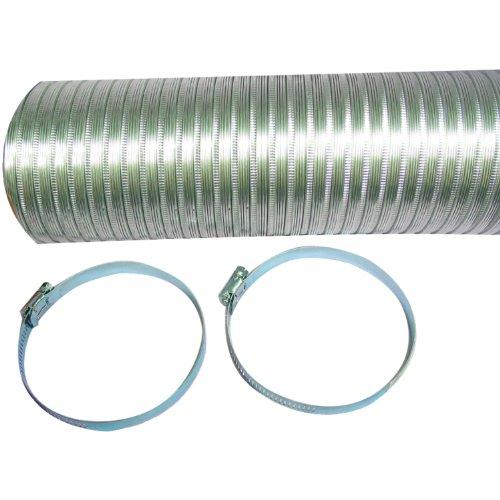 (A048MX/9 Semi-Rigid Flexible Aluminum Duct (4