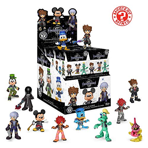 - Funko Mystery Minis: Kingdom Hearts 3 - One Mystery Collectible Figure, Multicolor