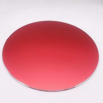 Cojín de ratón Redondo Antideslizante de Aluminio Inferior ...