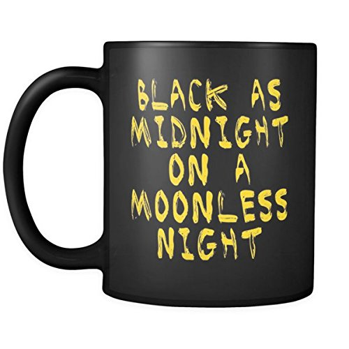 Black As Midnight On a Moonless Night - Dale Cooper - Twin Peaks Coffee Mug