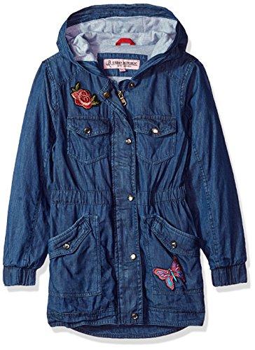 Urban Republic Little Girls Washed Ctn Cha, Dark Blue, 5/6