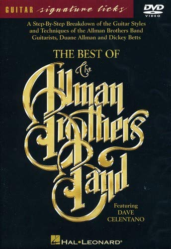 Best of the Allman Brothers Band - Signature Licks DVD (Best International Shopping Sites)