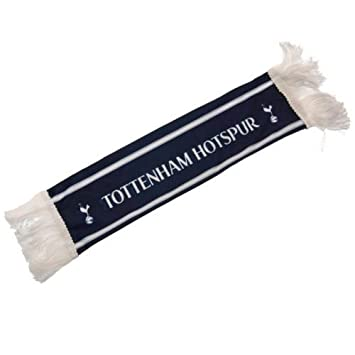 Tottenham Hotspur Spurs FC Fu/ßball wei/ß blau verblassen Design Schal Abzeichen