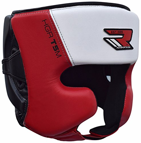 RDX Boxing Head Guard MMA Headgear Kickboxing Headguard Muay Thai Fighting Training