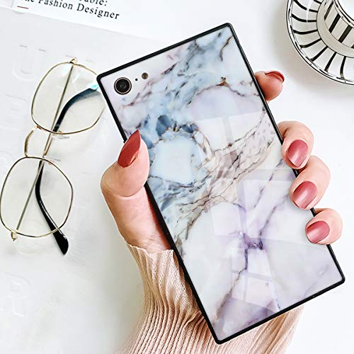 - BesteeCase Marble Square Case for iPhone 7/iPhone 8, Retro Classic Stylish Soft TPU and Hard PC Shockproof Cover Case for iPhone 7/8 (4.7 Inch)