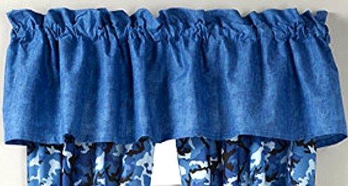 Blue Window Treatment 16