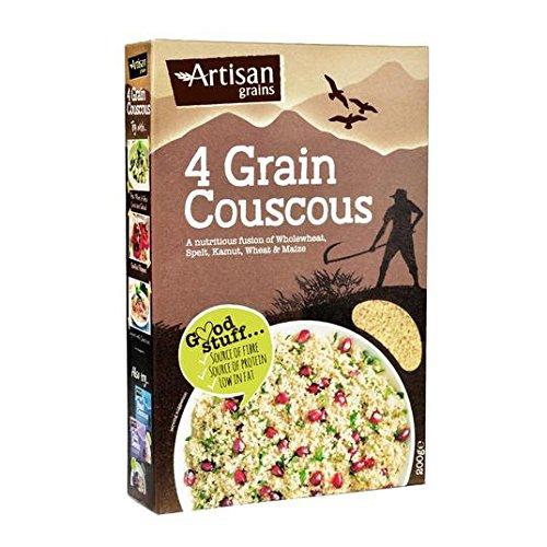 Granos artesanales 4 cuscús grano 200g: Amazon.es: Alimentación y ...
