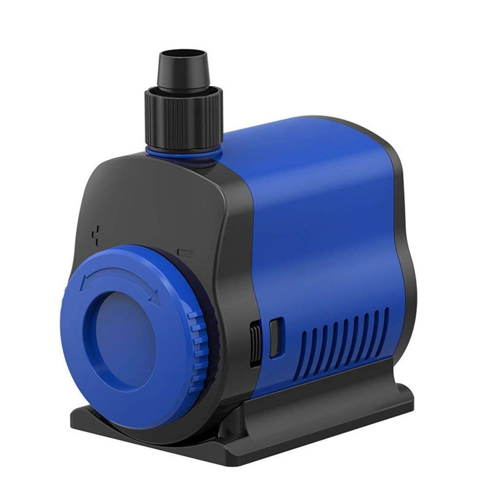 3000 Aquariumsubmersible Pump Water Pump(3500L H, 80W), Ultra Quiet Water Pump with 3.6M High Lift, Fountain Pump with 1.5M Power Cord, 3 Nozzles for Fish Tank,3500L H,3000