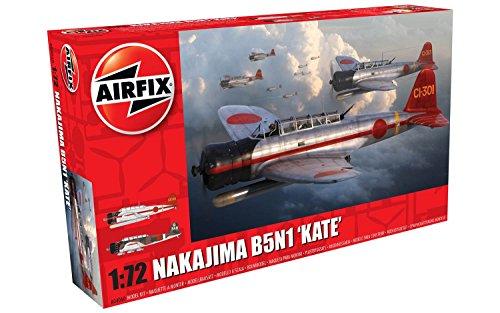 Airfix Nakajima B5N1 Kate 1:72 Military Aircraft Plastic Model Kit