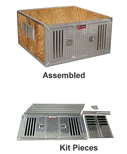Owens Do it Yourself Aluminum Dog Box-Compact Truck - Hunting Dog Boxes
