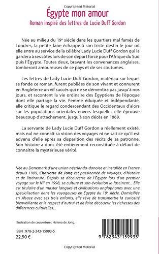 égypte Mon Amour Roman Inspiré Des Lettres De Lucie Duff