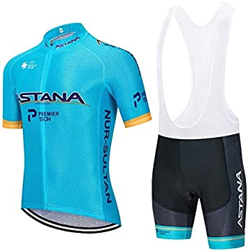 WOLFIRE WF Traje de Ciclismo para Hombre de Equipos. Culotte y Maillot. con 5D Gel Pad. para MTB, Spinning, Bicicleta de Carretera: Amazon.es: Deportes y aire libre