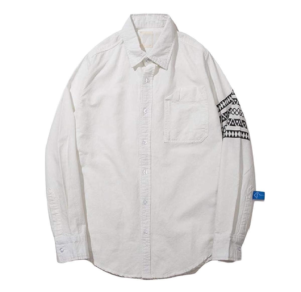 Mfasica Mens Basic Cotton Juniors Fitness Casual Fall Winter T-Shirts