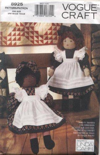 Vogue Crafts Rag Dolls Sewing Pattern # 8925 ()