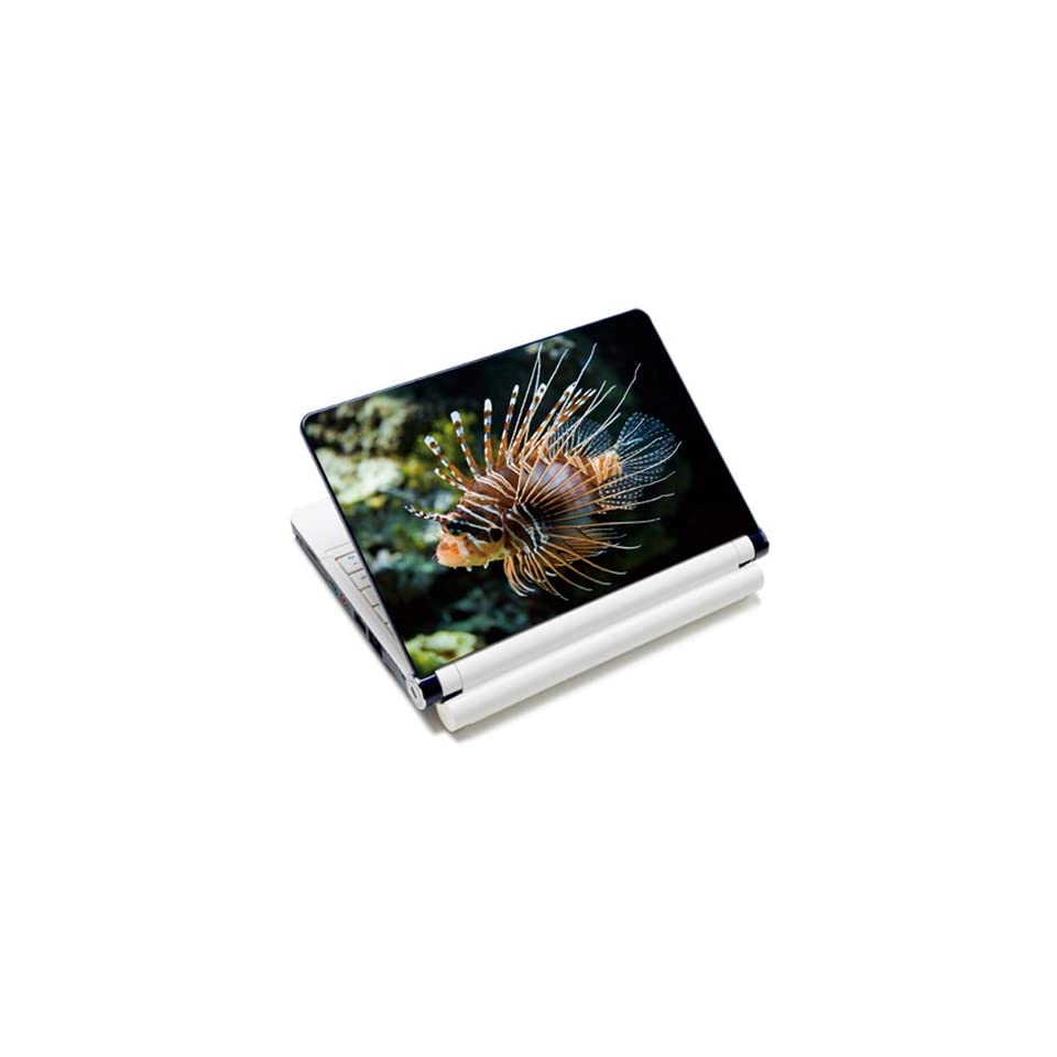 Novelty Lionfish Laptop Notebook Protective Skin Cover Sticker Decal Protector   12.1 13.3 14 15.6 16 17 Inch For Acer Apple Asus Dell
