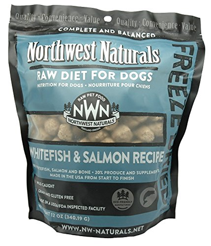 Northwest Naturals Whitefish & Salmon Freeze Dried Raw Nuggets 12oz (Fish Nuggets)
