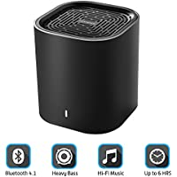 Portable Bluetooth Speaker - Mini Bluetooth Speaker w/ Superior Clarity and Enhanced Heavy Bass, Powerful Big Sound Driver, 33Ft Wireless Range, Up to 6 Hours Playtime Premium Wireless Bluetooth Speak
