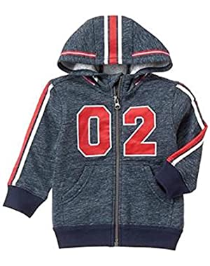 Toddler Boy's Football Helmet Varsity Hoodie (6-12 Months)