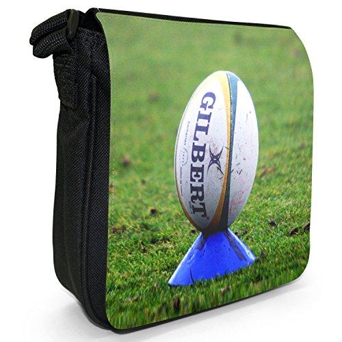 Snuggle World Cup Team nbsp; Black Fancy Kit Tela Palla Tracolla A Rugby Da Small Bwqxg50p