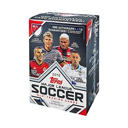 Blaster 8 Pack Trading Cards - 2018 Topps MLS Soccer 8ct Blaster Box