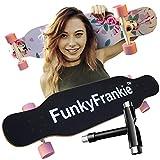 42 inch Complete Skateboard Longboard - Dropthrough