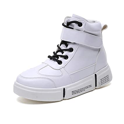 9ca727bdc7654 Amazon.com: YXB Women's Deck Shoes PU Sports Shoes Fashion Slip On ...