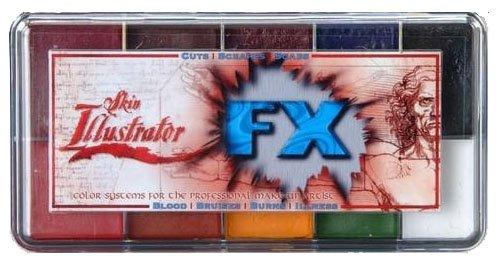 Skin Illustrator FX makeup palette Premiere Products ppi Inc Alcohol attivato Premiere Products Inc