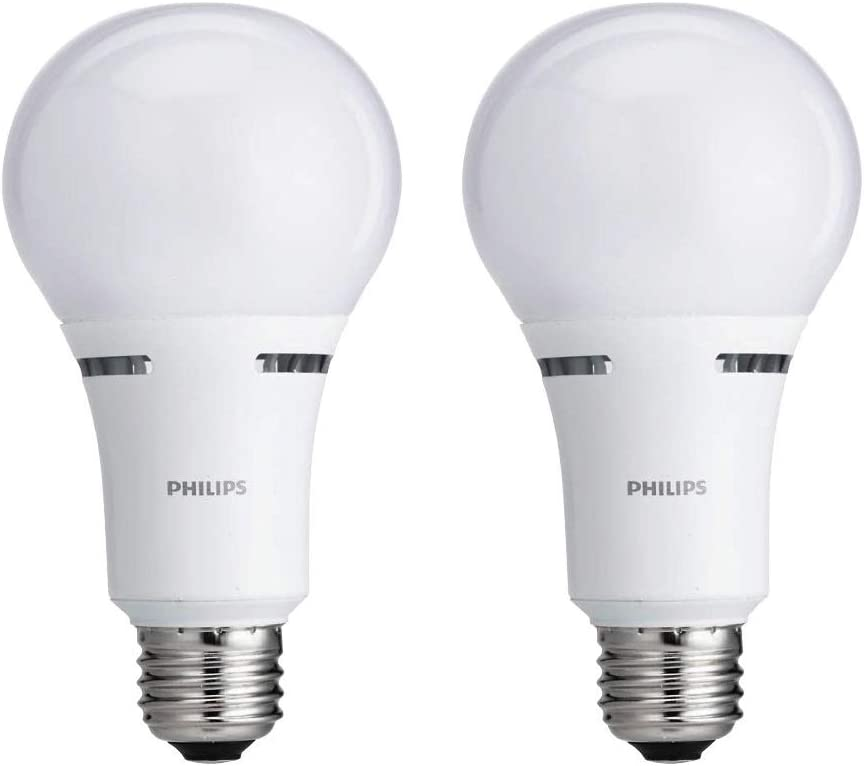Philips LED 3-Way A21 Frosted Light Bulb