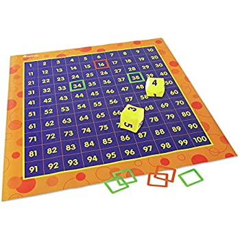 Amazon Com Learning Resources Hundred Activity Mat Play Mat