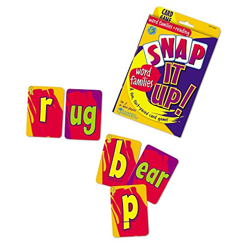 51LJwLsqzRL - Learning Resources Snap It Up! Phonics & Reading Card Game