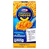 Kraft Macaroni and Cheese Dinner, Original Flavor, 7.25 Ounce Box (Pack of 35 Boxes)
