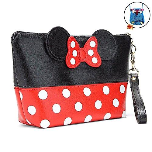Bags us Handbag Wrist Bag Bowknot Dots Travel