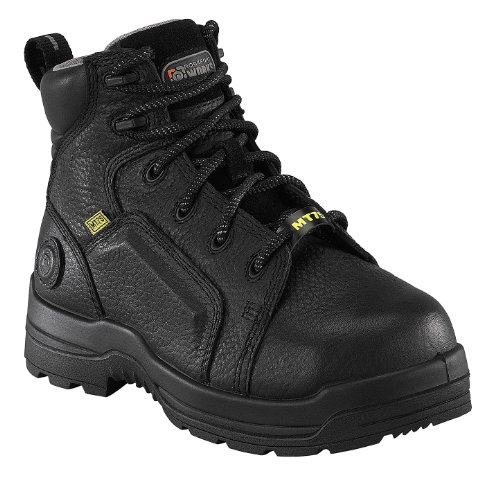 Boots, Woms, Safety Toe, Met Grd, 8-1/2, PR