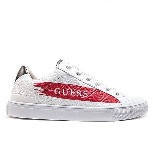 929efce18e Guess Sneakers Uomo Bianco/Red N 39: Amazon.it: Scarpe e borse