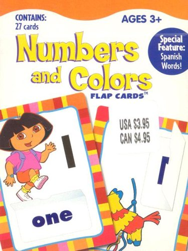 Download Numbers and Colors: Flap Cards (Dora the Explorer) ebook