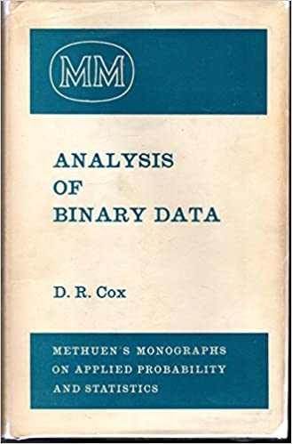Amazon in: Buy Analysis of Binary Data (Monographs on Applied