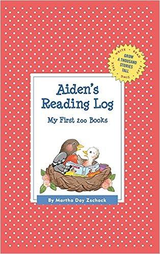 Book Aiden's Reading Log: My First 200 Books (Gatst) (Grow a Thousand Stories Tall)