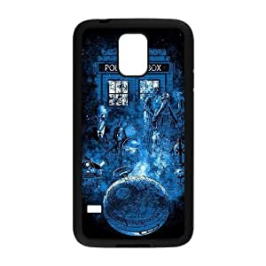 FOR Samsung Galaxy S5 -(DXJ PHONE CASE)-TV Show Doctor Who Series-PATTERN 11