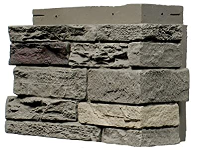 NextStone Slatestone Outside Corner Pewter - 4 Corners per Box (2.75 lin.ft.)