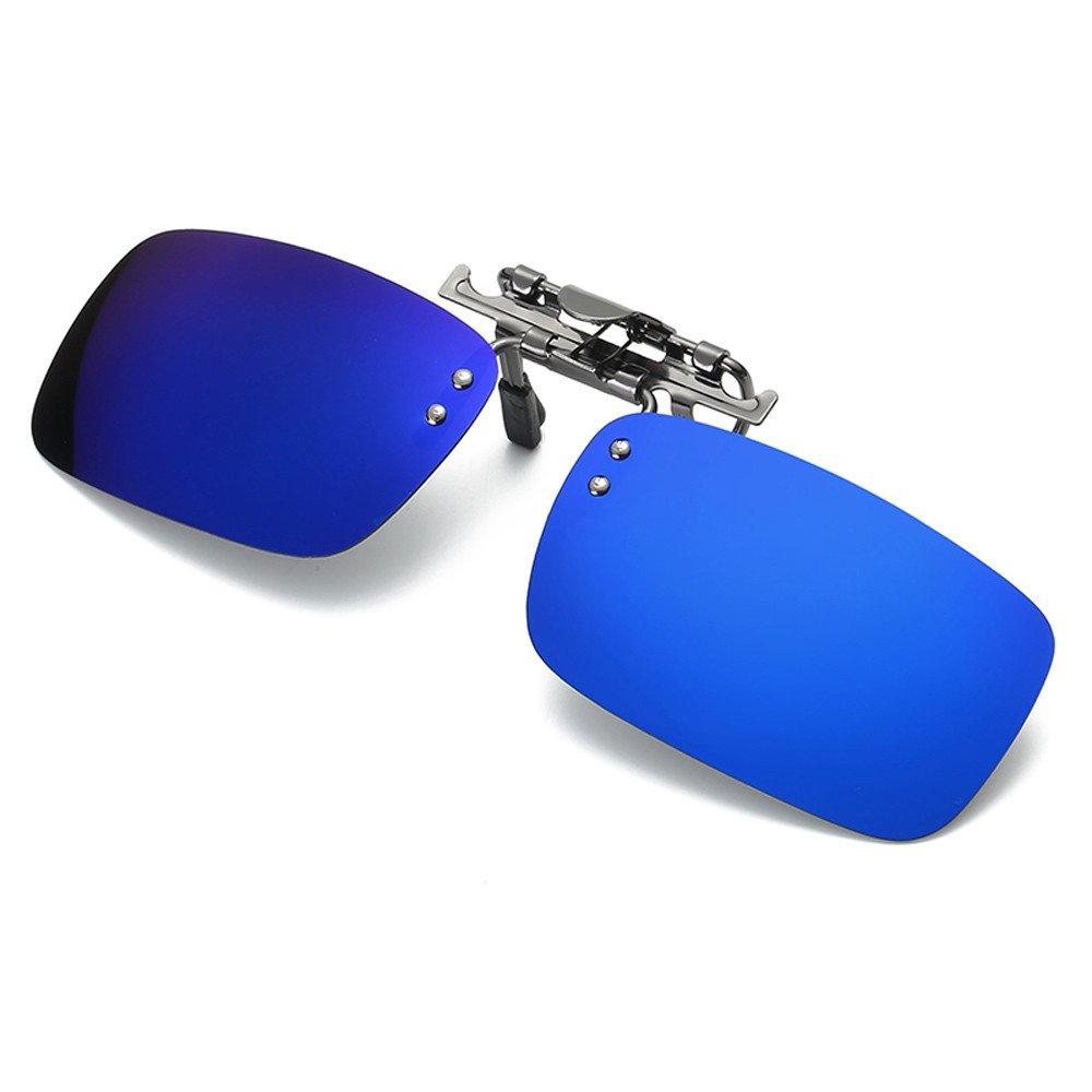 Mode Sunglasses ALIJEEY Abnehmbares Nachtsichtgerät, das Metall ...