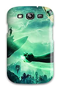 New Style 3269462K10198367 For Galaxy S3 Premium Tpu Case Cover Green Lantern Protective Case