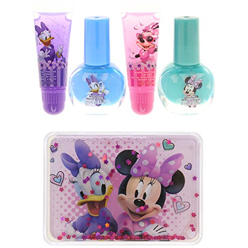 Townley Girl Minnie Mouse Kiss It Paint It Lip Gloss and Nai