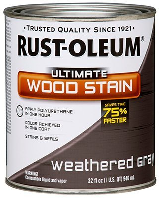 RUST-OLEUM 271130 quart Weathered Grey Interior Wood Stain