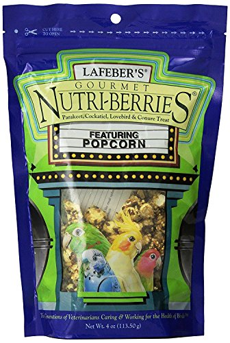 (Lafeber's Popcorn Nutri-Berries for Cockatiels 4 oz bag)