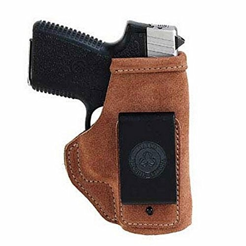 Galco Stow-N-Go Inside The Pant Holster for Glock 19, 23, 32 (Natural, Right-Hand)